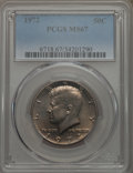 Kennedy Half Dollars, 1972 50C MS67 PCGS. PCGS Population: (20/0). NGC Census: (6/0).Mintage 153,180,000. ...