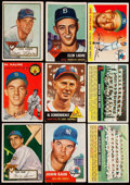 Baseball Cards:Lots, 1952 Through 1956 Topps Baseball Collection (57). ...