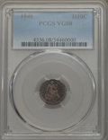 1846 H10C VG8 PCGS. PCGS Population: (15/85). NGC Census: (9/44). CDN: $1,000 Whsle. Bid for problem-free NGC/PCGS VG8...