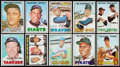 Baseball Cards:Sets, 1967 Topps Baseball Partial Set (470). ...