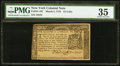 Colonial Notes:New York, New York March 5, 1776 $1/4 PMG Choice Very Fine 35.. ...