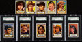 Non-Sport Cards:Sets, 1952 Topps Look-N-See Partial Set (127/135). ...