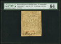 Colonial Notes:Massachusetts, Massachusetts June 18, 1776 24s/$4 Contemporary Counterfeit PMGChoice Uncirculated 64.. ...