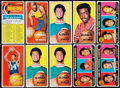 Basketball Cards:Lots, 1970 Topps Basketball Collection (100)....