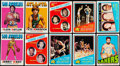 Basketball Cards:Lots, 1971-72 and 1972-73 Topps Basketball Collection (170)....