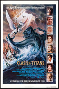 "Movie Posters:Fantasy, Clash of the Titans (MGM, 1981). One Sheet (27"" X 41"") Advance.Fantasy.. ..."