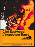 "Movie Posters:Crime, Dirty Harry (Warner Brothers, 1971). French Affiche (22.75"" X30.25""). Crime.. ..."