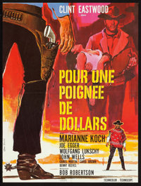 """A Fistful of Dollars (PEA, 1966). French Affiche (22.5"""" X 30""""). Western"""