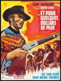 "Movie Posters:Western, A Fistful of Dollars (United Artists, 1967). French Moyenne (22.75""X 30.5"") Vanni Tealdi Artwork. Western.. ..."