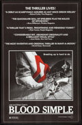 """Movie Posters:Thriller, Blood Simple (Circle Films, 1984). Identical One Sheets (5) (24.5""""X 36""""). Thriller.. ... (Total: 5 Items)"""