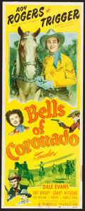 "Movie Posters:Western, Bells of Coronado (Republic, 1950). Insert (14"" X 36""). Western.. ..."