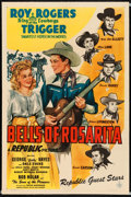 "Movie Posters:Western, Bells of Rosarita (Republic, 1945). One Sheet (27"" X 41""). Western.. ..."