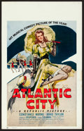 "Movie Posters:Musical, Atlantic City (Republic, 1944). Window Card (14"" X 22""). Musical....."