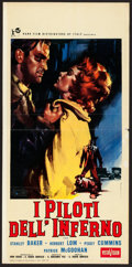"Movie Posters:Crime, Hell Drivers (Rank, 1957). Italian Locandina (13"" X 27.5""). Crime....."