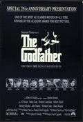 "Movie Posters:Crime, The Godfather (Paramount, R-1997). 25th Anniversary Mylar One Sheet(26.75"" X 39.75""). Crime.. ..."