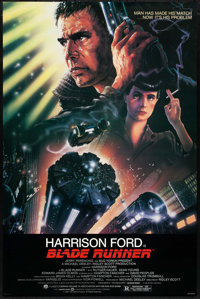 """Blade Runner (Warner Brothers, 1982). Full Bleed One Sheet (27"""" X 41""""). Science Fiction"""