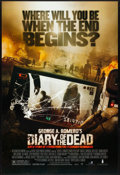 """Movie Posters:Horror, Diary of the Dead (The Weinstein Company, 2007). Rolled, VeryFine+. One Sheet (27"""" X 40"""") SS. Horror.. ..."""