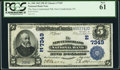 National Bank Notes:Pennsylvania, New Cumberland, PA - $5 1902 Plain Back Fr. 598 The New CumberlandNB Ch. # (E)7349. ...