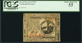 Colonial Notes:Continental Congress Issues, Continental Currency November 29, 1775 $2 PCGS Choice About New55.. ...