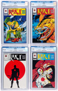 Modern Age (1980-Present):Superhero, Rai CGC-Graded Group of 4 (Valiant, 1992).... (Total: 4 ComicBooks)