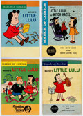 Golden Age (1938-1955):Miscellaneous, March of Comics Plus Little Lulu Related Group of 33 (K. K. Publications, Inc., 1950s-60s).... (Total: 33 Comic Books)