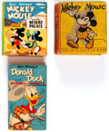 Big Little Book:Miscellaneous, Mickey Mouse and Donald Duck Big Little Books Group of 3 (Whitman,1933-49).... (Total: 3 Items)
