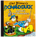 Big Little Book:Cartoon Character, Big Little Book #845 Walt Disney's Donald Duck and His Cat Troubles(Whitman, 1948) Condition: VG....