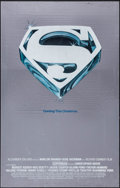 """Movie Posters:Action, Superman the Movie (Warner Brothers, 1978). Mylar One Sheet (25.25""""X 39.75"""") & Mylar Commercial Poster (21"""" X 30""""). Action....(Total: 2 Items)"""