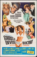 "Movie Posters:Comedy, Ghost in the Invisible Bikini (American International, 1966). Folded, Fine/Very Fine. One Sheet (27"" X 41""). Comedy.. ..."