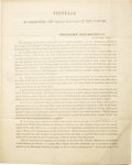 Miscellaneous:Ephemera, Circular To Collectors And Other Officers Of The Customs....