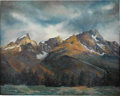 Paintings, RITA HOFFMAN SHULAK (American 20th Century) . Freedom Among the Tetons . Oil on canvas . 24 x 30in. . Signed lower right... (Total: 1 Item)