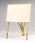 Texas:Early Texas Art - Impressionists, FRANK REAUGH (1860-1945). Frank Reaugh Portable Lap Easel,1928. Wood. 19 x 18 inches (48.3 x 45.7 cm) (folded). Sta...