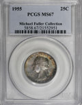 Washington Quarters, 1955 25C MS67 PCGS....