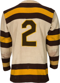 c9f74b25878 ... Hockey Collectibles:Uniforms, Mid 1930's Boston Cubs Game Worn Jersey -  Possibly Worn by ...