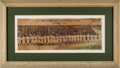 Baseball Collectibles:Photos, 1913 Cleveland Naps Panoramic Photographic Supplement....