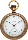 "Timepieces:Pocket (pre 1900) , Waltham Rare ""Ultimatum"" Model 88. ..."