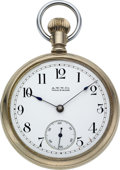 Timepieces:Pocket (pre 1900) , Waltham Rare Model 88 Employee's Watch. ...