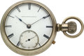 Timepieces:Pocket (pre 1900) , United States Watch Co., Marion N.J., Henry Randel Transitional....