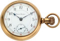 Timepieces:Pocket (pre 1900) , Newell Crocker Chicago Horological Institute Remodeled AppletonTracy & Co., circa 1890. ...