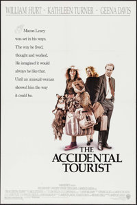 "The Accidental Tourist & Others Lot (Warner Brothers, 1988). One Sheets (5) (27"" X 40,"" 27"" X 40..."