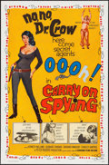 "Movie Posters:Comedy, Carry On Spying (Governor Films, 1964). One Sheet (27"" X 41"").Comedy.. ..."