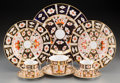 Ceramics & Porcelain, British:Modern  (1900 1949)  , A Fifty-Three Piece Royal Crown Derby Traditional ImariPattern Porcelain Dinner Service, Derby, England, design... (Total:53 Items)