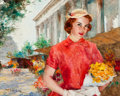 Fine Art - Painting, American, Pal Fried (Hungarian/American, 1893-1976). Susan. Oil oncanvas. 24 x 31 inches (61.0 x 78.7 cm). Signed lower left:F...