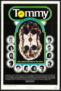 "Movie Posters:Rock and Roll, Tommy (Columbia, 1975). Flat Folded One Sheet (27"" X 41""). Rock andRoll.. ..."