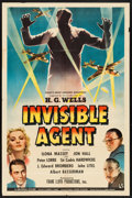 "Movie Posters:War, Invisible Agent (Universal, 1942). One Sheet (27"" X 41""). War.. ..."