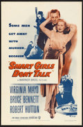 """Movie Posters:Crime, Smart Girls Don't Talk (Warner Brothers, 1948). One Sheet (27"""" X41""""). Crime.. ..."""