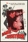 """Movie Posters:Crime, Gang Busters (Visual Drama, Inc., 1954). One Sheet (27"""" X 41""""). Crime.. ..."""