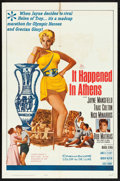 "Movie Posters:Comedy, It Happened in Athens & Other Lot (20th Century Fox, 1962).Folded, Very Fine-. One Sheet (27"" X 41"") & French Petite(15.5""... (Total: 2 Items)"