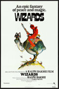 """Movie Posters:Animation, Wizards (20th Century Fox, 1977). One Sheet (27"""" X 41"""") Style A,William Stout Artwork. Animation.. ..."""