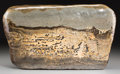 Asian, A Chinese Scholar's Rock. 11-1/2 inches high x 18-1/2 inches wide(29.2 x 47.0 cm). ...